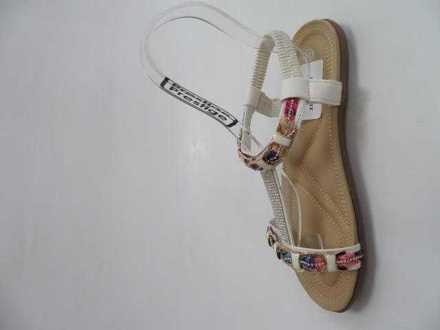 Sandały Damskie 1966, White, 36-41 2