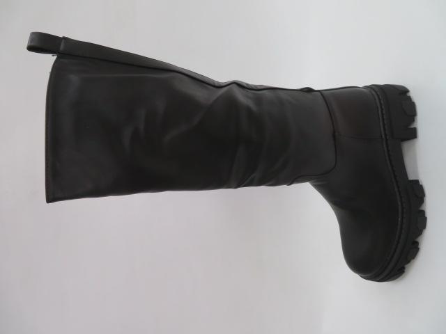 Kozaki Damskie 9005, Black, 36-41