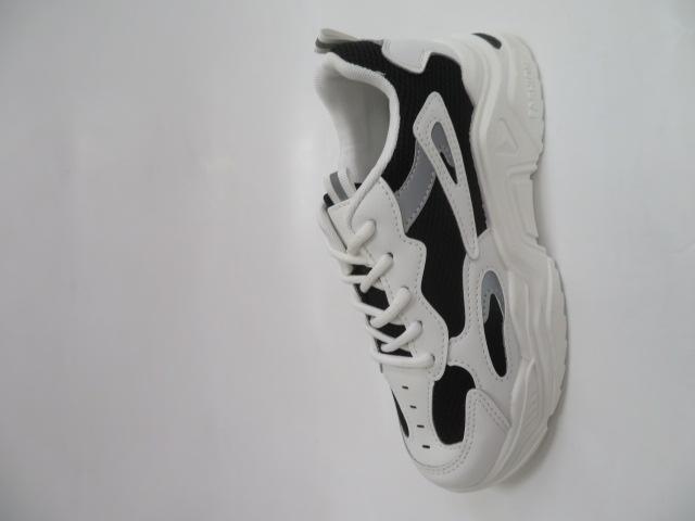 Sportowe Damskie 627, White/Black, 36-41