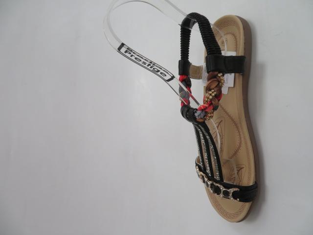 Sandały Damskie 2058 ,Black, 36-41 2