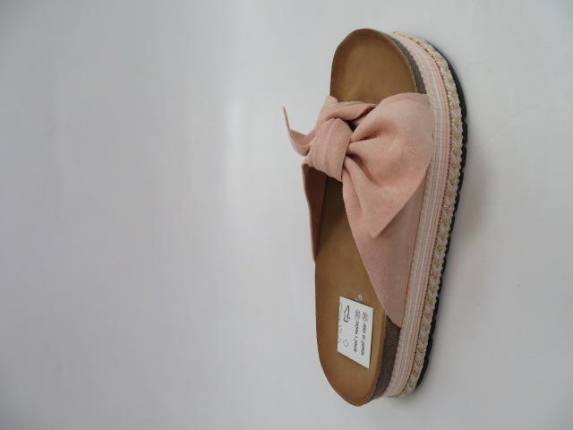 Klapki Damskie J163, Pink, 36-41