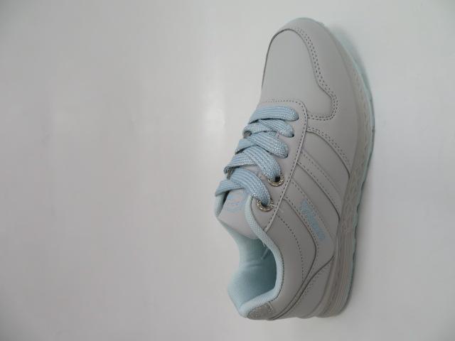 Sportowe Damskie LXC7622, L.Grey/S.Blue, 36-41
