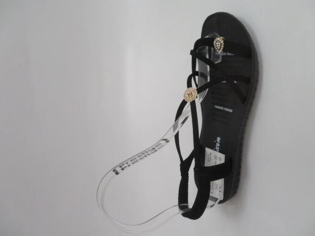 Sandały Damskie C203-1,  Black, 36-41