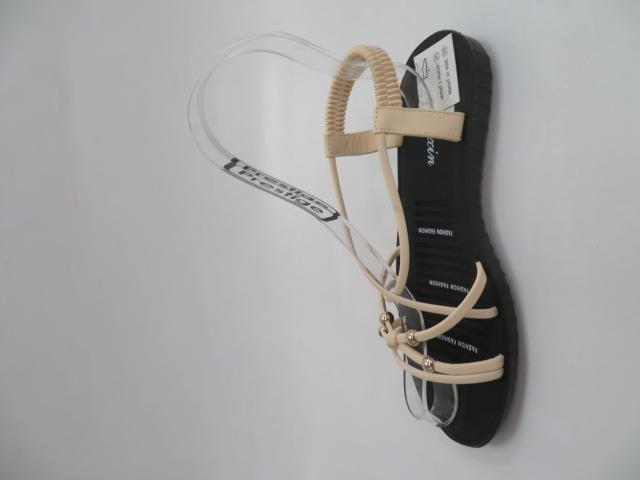 Sandały Damskie C207-3, Beige, 36-41