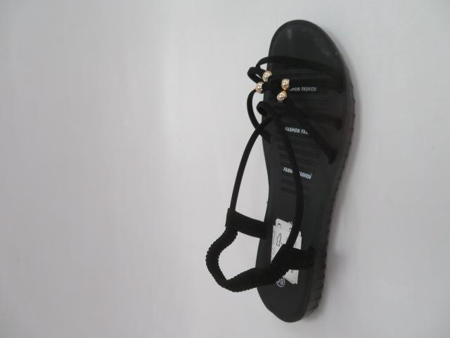 Sandały Damskie C207-1, Black, 36-41