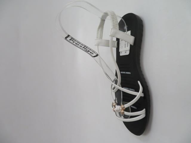 Sandały Damskie C207-2, White, 36-41