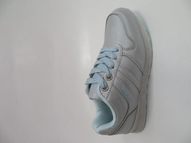 Sportowe Damskie LXC7622, D.Grey/S.Blue, 36-41