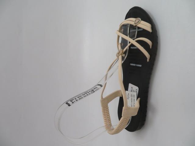 Sandały Damskie C203-3, Beige, 36-41