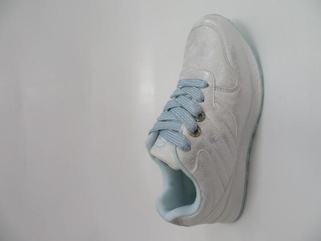 Sportowe Damskie LXC 7623, Silver/S.Blue, 36-41