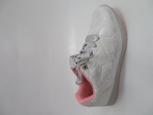 Sportowe Damskie LXC 7520, Silver/Pink, 36-41