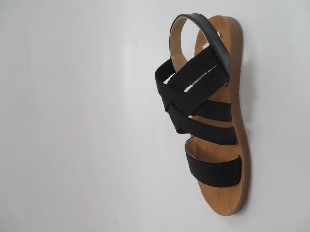 Sandały Damskie 9225, Black, 36-41