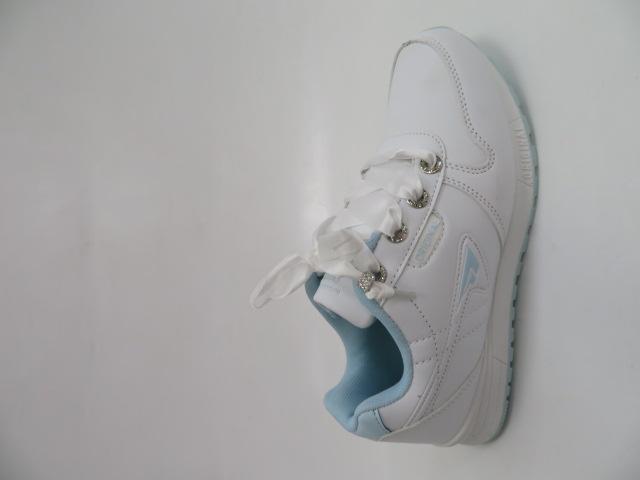 Sportowe Damskie LXC 7517, White/S.Blue, 36-41