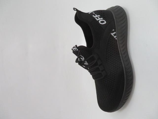 Buty Sportowe Męskie HMD11-1, Black/White, 40-45