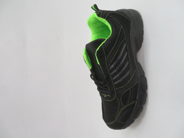 Sportowe Damskie F057, Black/Grey, 36-41
