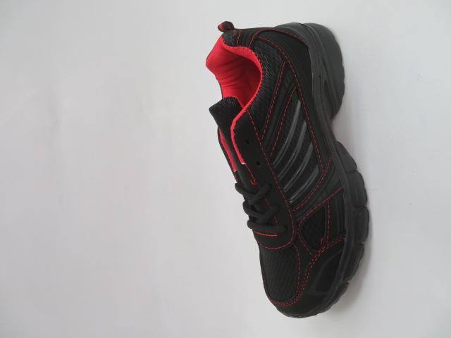 Sportowe Damskie F057, Black/Red, 36-41
