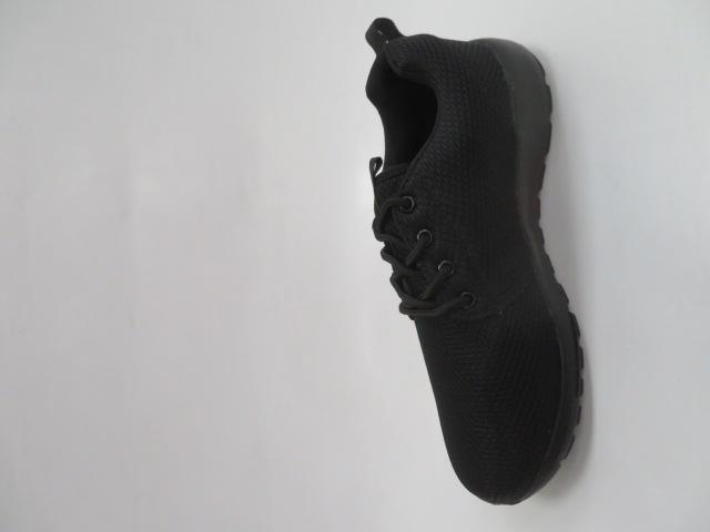 Buty Sportowe Męskie MN15-B2, Black/Black, 41-46 2