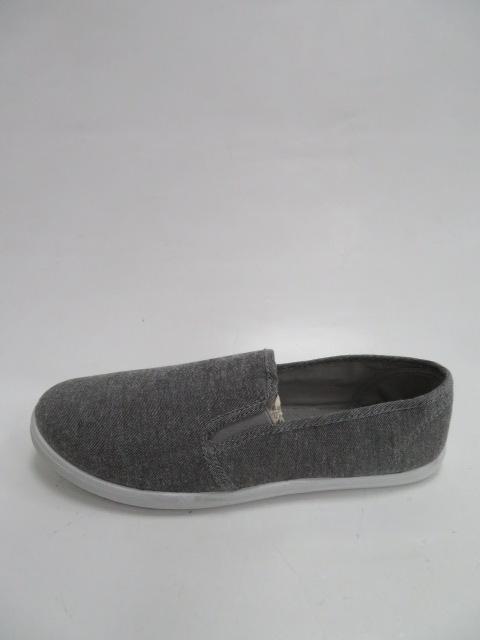 Półbuty Męskie 19HL002 , Grey, 41-46