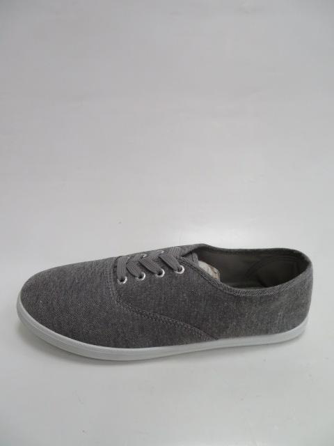Trampki Męskie 15HL012, Grey, 41-46