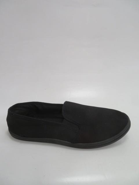 Półbuty Męskie 19HL002, Black , 41-46