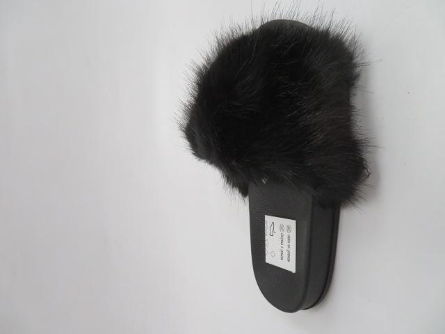Klapki Damskie S111, Black, 36-41