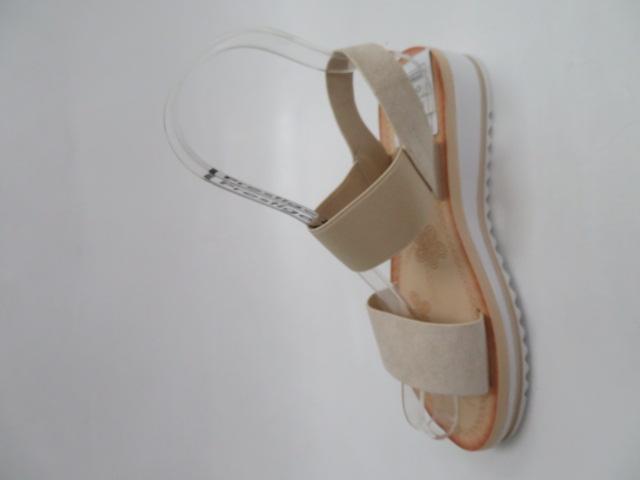Sandały Damskie S1614, Beige, 36-41