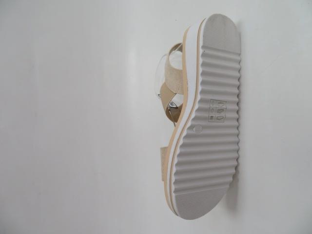 Sandały Damskie S1614, Beige, 36-41 3
