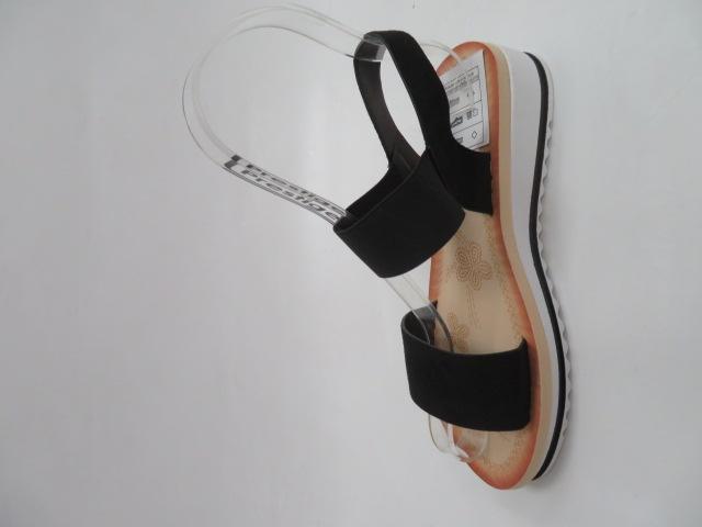 Sandały Damskie S1614, Black, 36-41