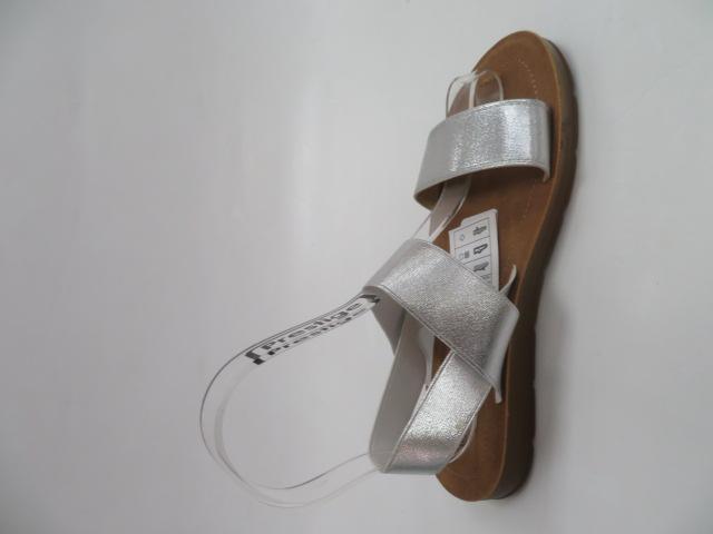 Sandały Damskie LS213, Silver, 36-41 3