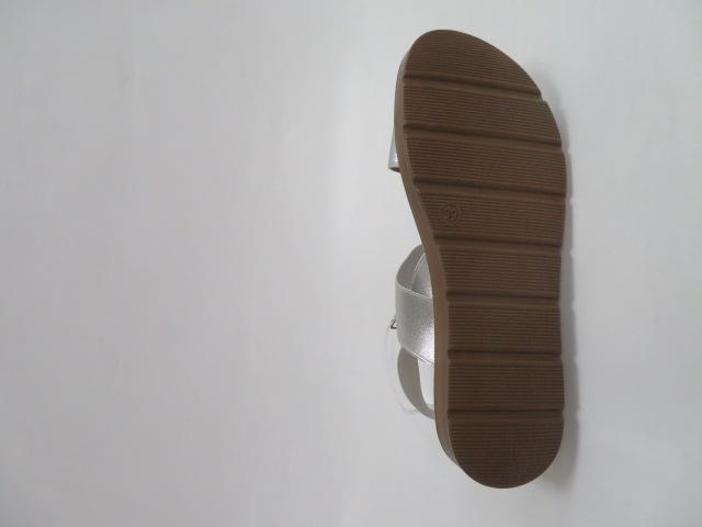 Sandały Damskie LS213, Silver, 36-41