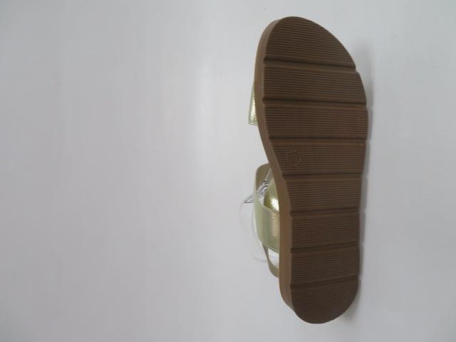 Sandały Damskie LS213, Gold, 36-41