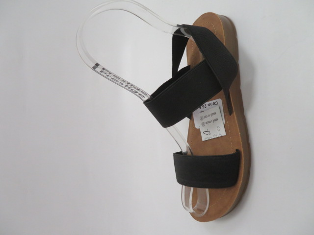 Sandały Damskie LS213, Black, 36-41