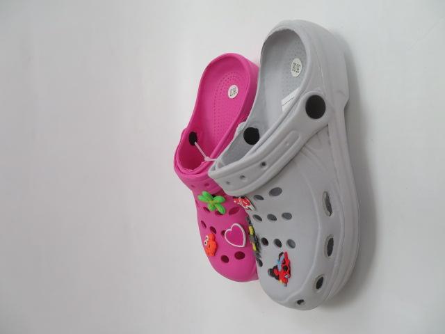 Klapki Dziecięce 2-0220-B,  Mix 3 color, 31-37