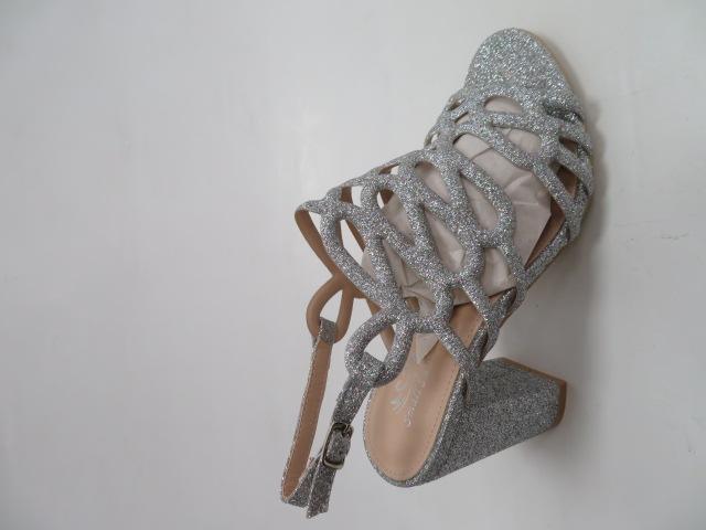 Sandały Damskie L11-152, Silver , 36-40