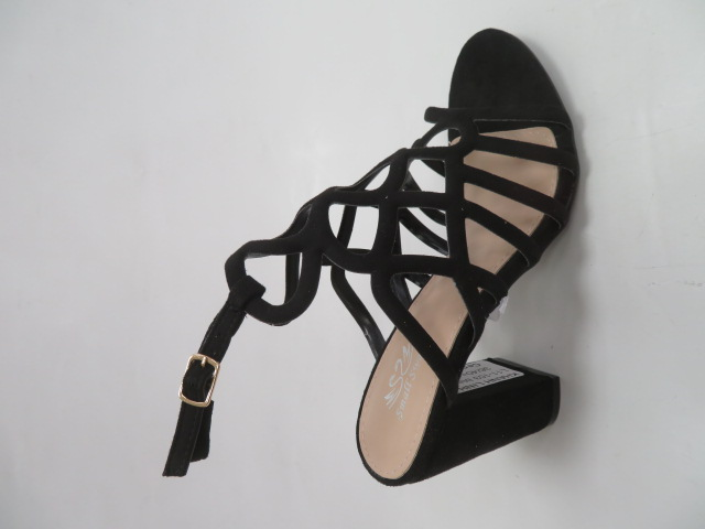 Sandały Damskie L11-153, Black , 36-40