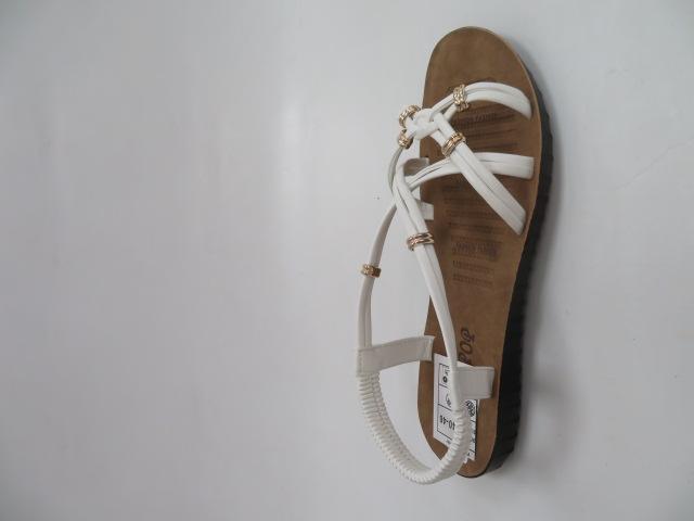 Sandały Damskie 6700, White, 36-41
