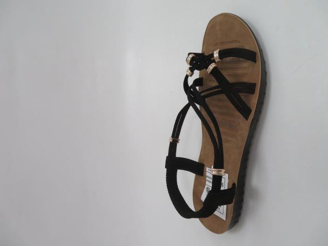 Sandały Damskie 6700, Black, 36-41