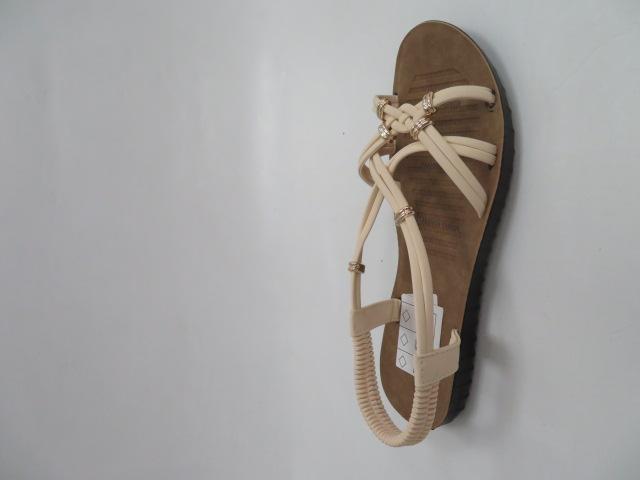 Sandały Damskie 6700, Beige, 36-41