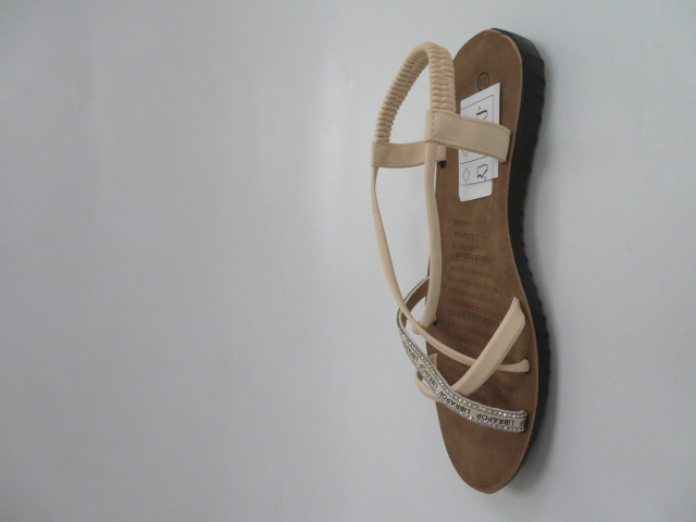 Sandały Damskie 6701, Beige, 36-41