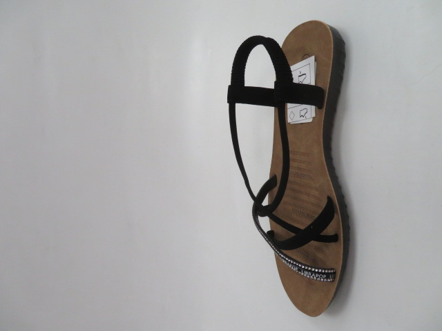 Sandały Damskie 6701, Black, 36-41