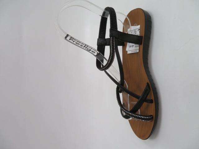 Sandały Damskie 6602, Black, 36-41