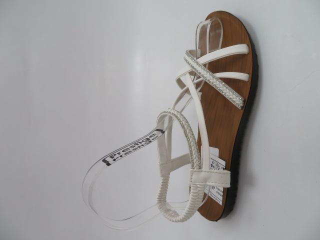 Sandały Damskie 6602, White, 36-41