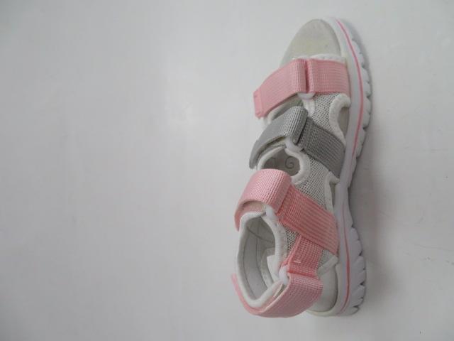 Sandały Dziecięce FKF-02, Pink/LGrey , 28-36