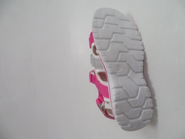 Sandały Dziecięce FKF-02, Fushia/Grey , 28-36