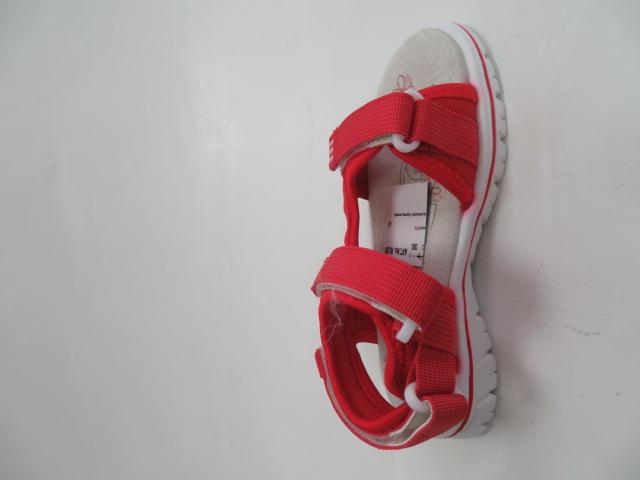 Sandały Dziecięce FKF-01, Red , 28-36