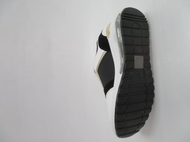 Sportowe Damskie 8036, Black, 36-41