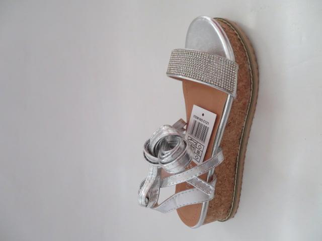 Sandały Damskie 680-43, Silver, 36-41