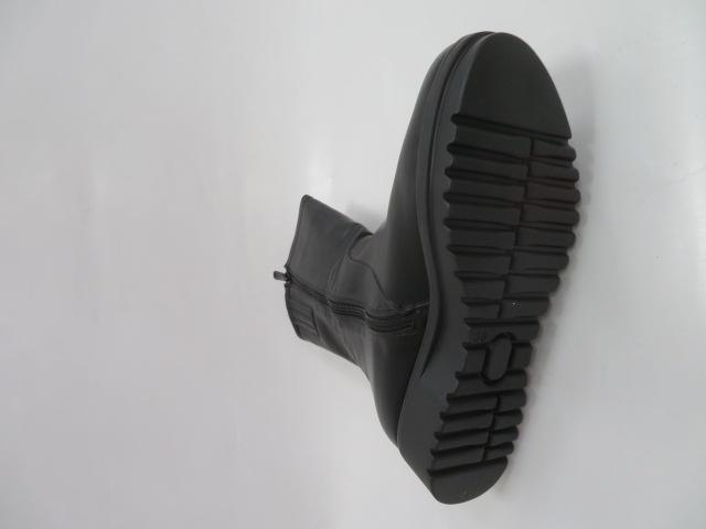 Botki Damskie 56622A, Black, 36-41 3