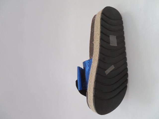Klapki Damskie LS013, Blue, 36-41 3
