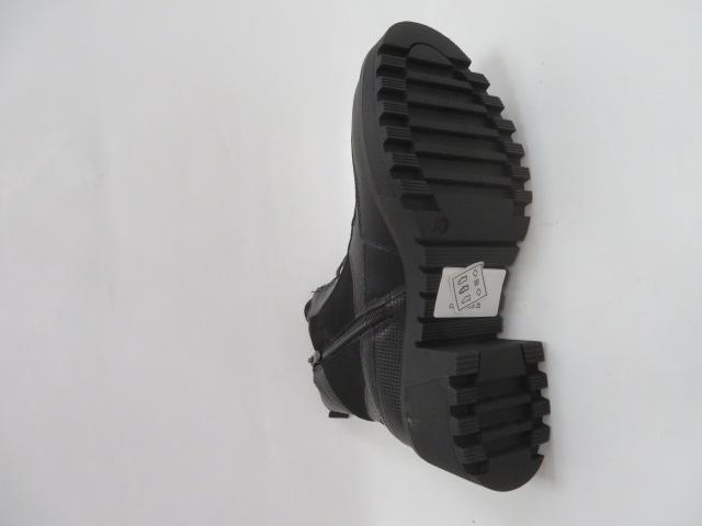 Botki Damskie H5894, Black, 36-41 3