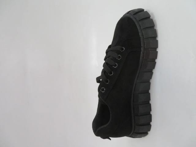 Trampki Damskie EJ01, All Black, 36-41 2